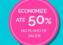 Economize até 50% no plano de saúde.